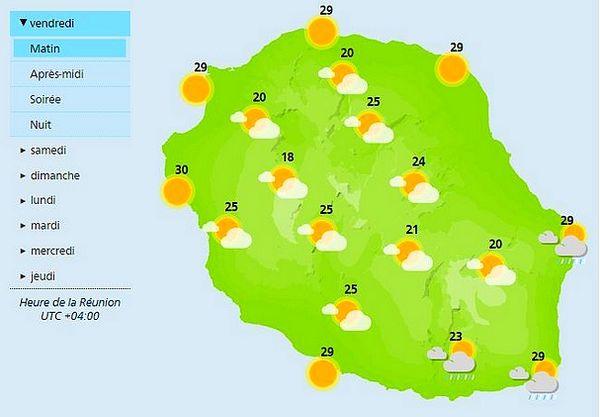 Carte météo 26 mars 2021