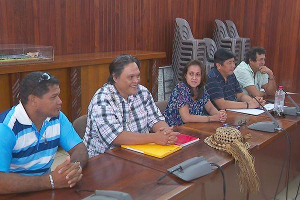 réunion conflit social DFSE