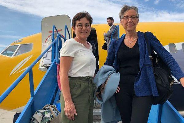Annick Girardin et Elisabeth Borne