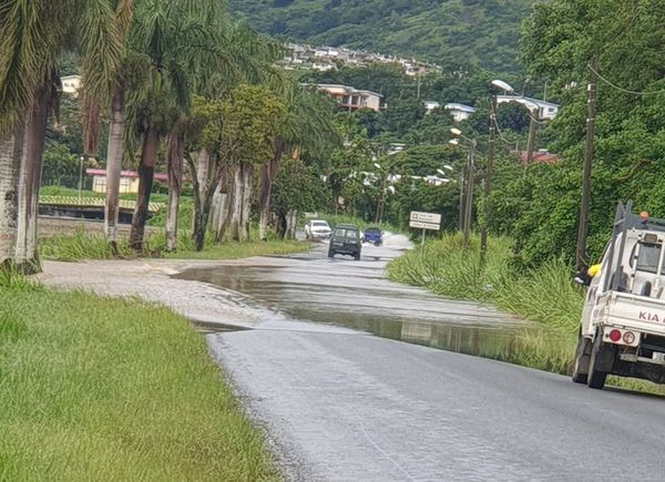 Inondation à Bourail, 14 avril 2021