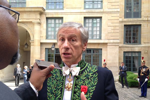 L'académicien Jean-Christophe Ruffin