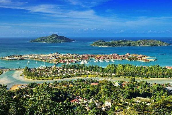 Les Seychelles vue du ciel 2020