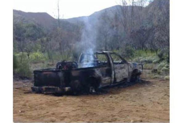 CCFL de pompiers volé et brûlé à Houaïlou