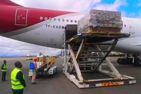 Livraison de concentrateur d'air à Madagascar