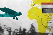 Première liaison aérienne entre l'Hexagone et La Réunion