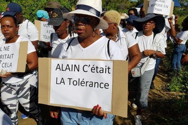 Marche hommage Alain Célini