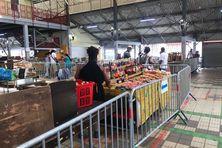 Le grand marché couvert de Fort-de-France.