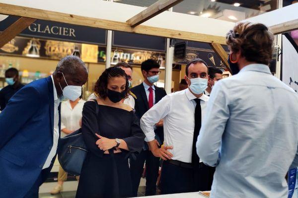 Sébastien Lecornu à la rencontre des socio professionnels