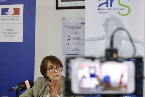 Martine Ladoucette, directrice générale de l'Agence Régionale de Santé.
