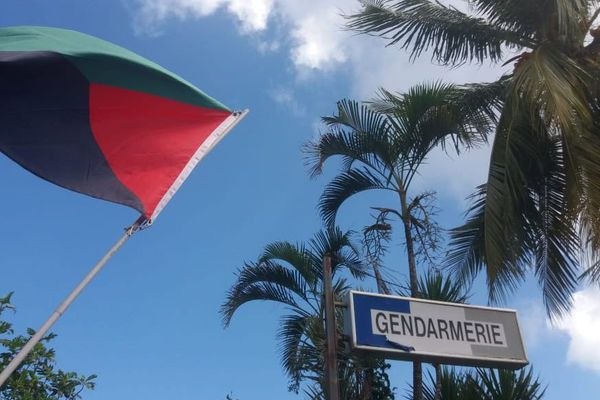 mobilisation drapeau gendarmerie Lorrain