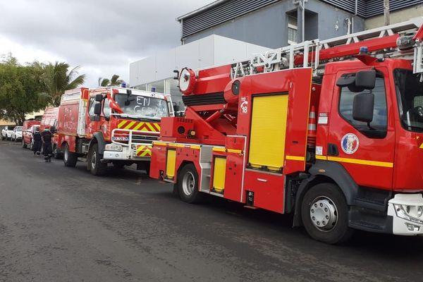 opération coup de poing des pompiers de Mayotte