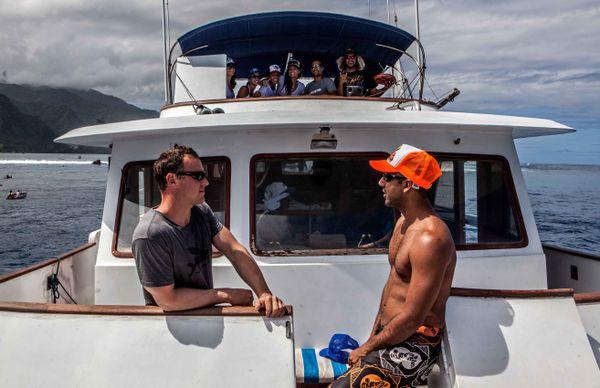 Bilabong pro tahiti touristes