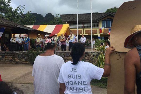 Ua Pou bébé décédé manifestation