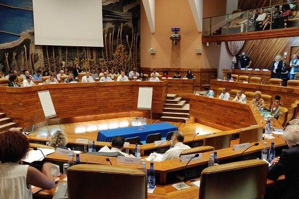 L'assemblée plénière de la Région a commencé.