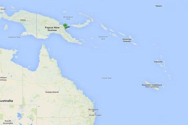 carte papouasie Nouvelle Guinée