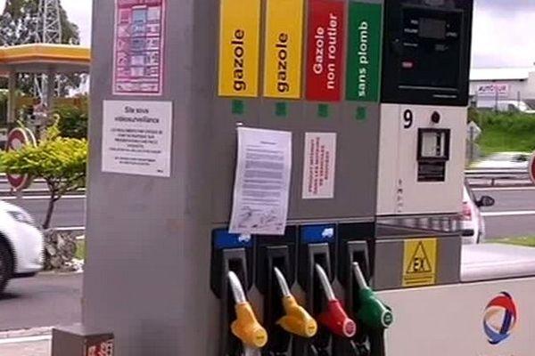 Station service : pompe à essence
