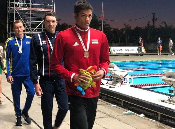 JIOI 2019 - Natation médaille d'or pour Ambroise Petit au 200m 4 nages 210719