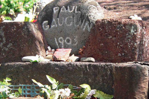 Tombe de Paul Gauguin à Atunoa (Hiva Oa)