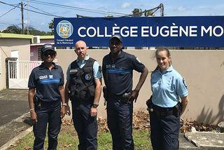 Policiers et gendarmes