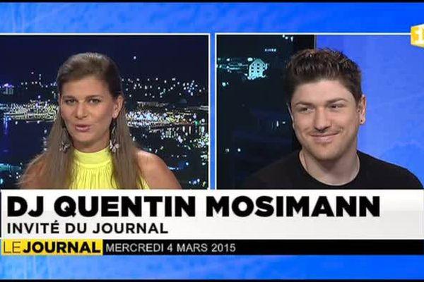 Quentin Mosimann en concert électro à To'ata