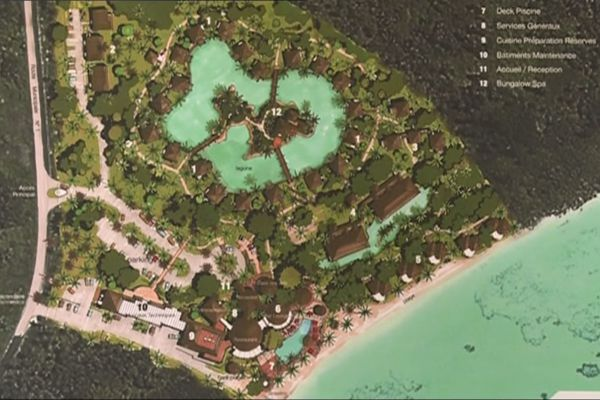 Hilton Lifou Wadra Bay. Tourisme