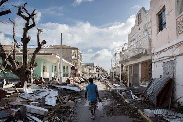 Saint Martin après Irma
