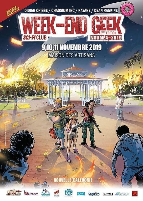 Affiche polémique weekend geek 2019
