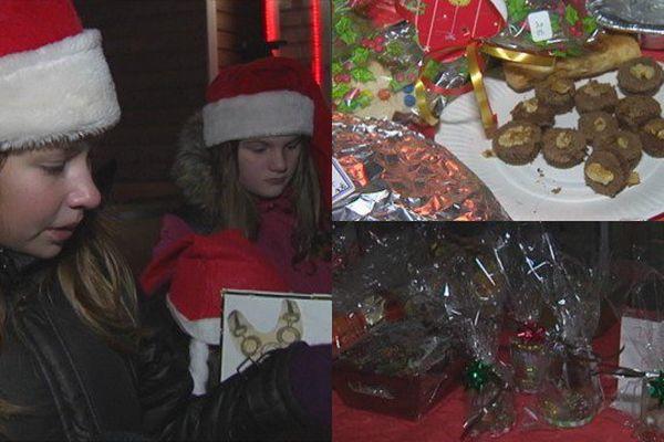 Marché de Noël de l'école Sainte-Croisine à Saint-Pierre