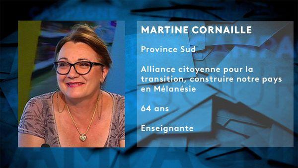 Fiche candidat Martine Cornaille