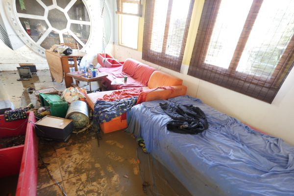 Un studio dévasté par les orages du 7 mai