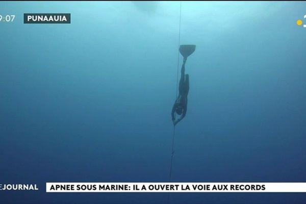 Week end de records : l'apnée en eau profonde pour W. Czyz