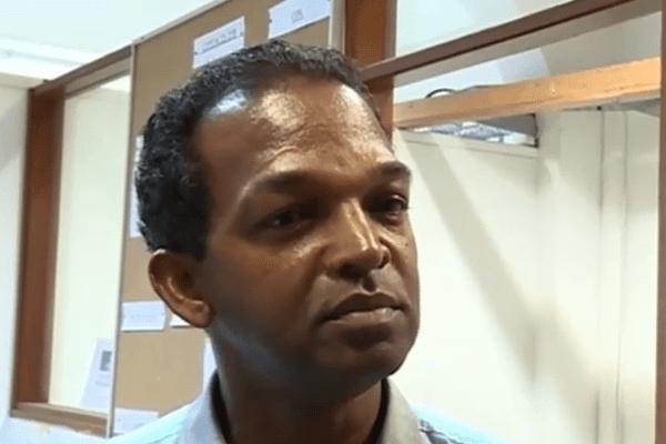 Philippe Alcide dit Clauzel, président de la Chambre de Métiers et de l'Artisanat de Guyane