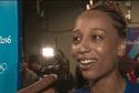 Qualifiée avec son équipe pour la finale olympique de handball, la guyanaise Béatrice Edwige remercie tous les supporters