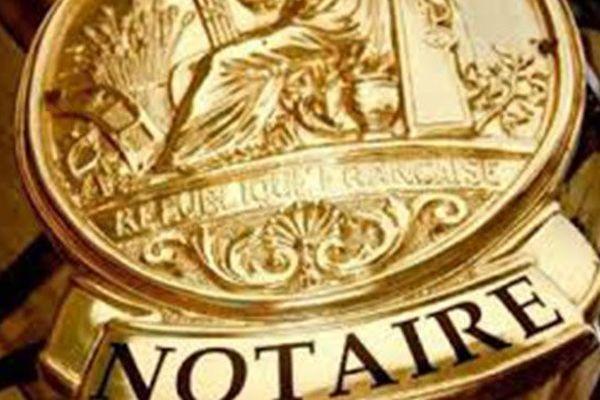 Notaire (plaque)