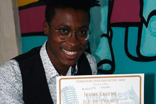 Finale nationale Voix des Outre-Mer, Auguste Truel représente Haiti