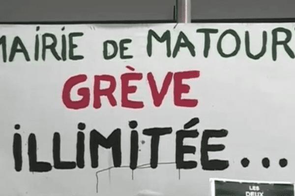 Grève à la mairie de Matoury
