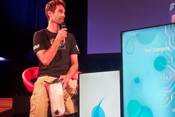 Eric Dargent, surfeur et victime d'une attaque de requin à La Réunion en février 2011