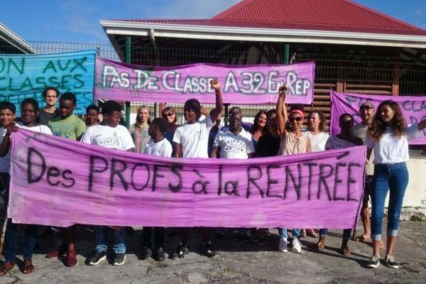 Mobilisation Collèges Marie-Galante