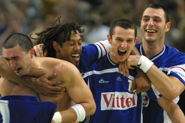 Bleus handball 2001