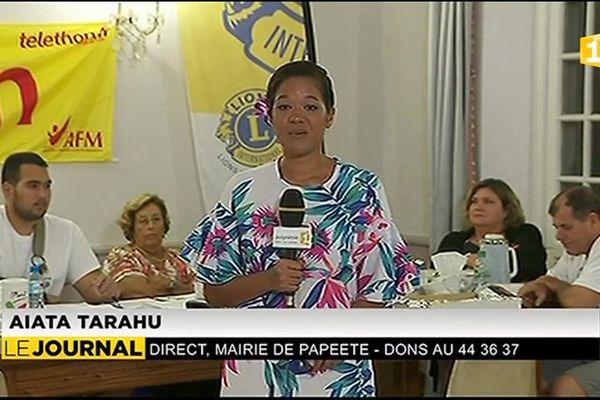 La Polynésie se mobilise pour le téléthon