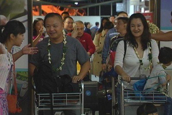 600 touristes chinois attendus à Tahiti en début de semaine
