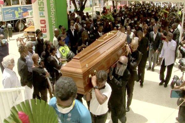 Funérailles de Claude Céprika