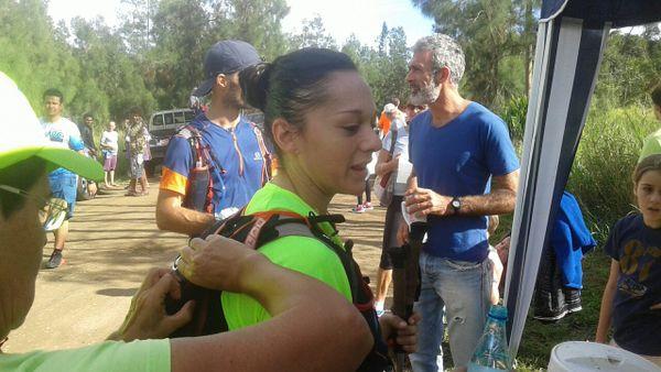 Photo Angélique Plaire PC 1 tribu Bangou ultra trail Nouvelle-Calédonie (4 juin 2017)
