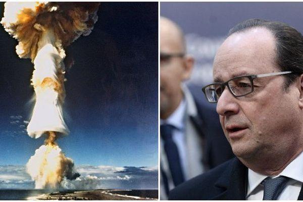 Hollande nucléaire polynésie