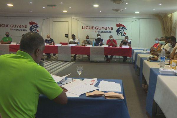 Réélection de Paul Polydore à la tête de la ligue de handball de Guyane