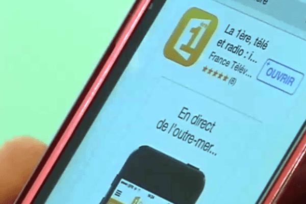 """Application """"La1ère"""""""