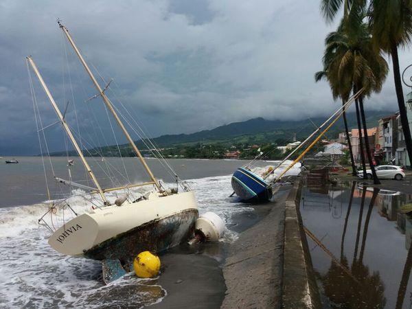 bateaux à Saint-Pierre