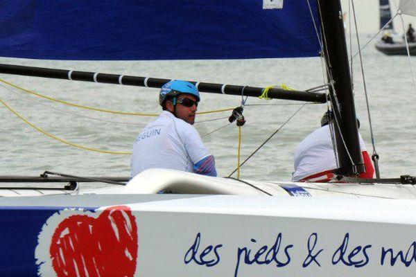 Le Guadeloupéen Damien Seguin pourrait bien remporter le Tour de France à la voile