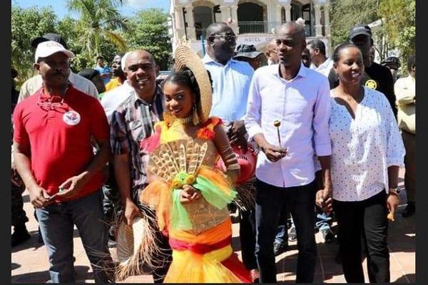 En Haïti, Jovenel Moïse