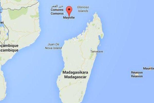 Carte séismes <océan indien